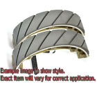 EBC Grooved Organic Brake Shoes - 508G for 82-84 Yamaha YZ490 Applications
