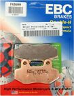 EBC Sintered Double-H Brake Pads - FA86HH for 07-08 Hyosung RX125SM Applications