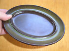 One Franciscan Madeira Butter Dish Base; Brown & Green