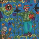 Fabric ~ KP Kids & Co by Kari Pearson ~Scarecrow/Halloween~ 100% Cotton ~ 5/8 Yd