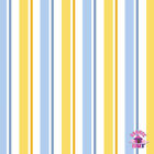 145000008 - Despicable Me 1 in a Minion Blue Stripe Cotton Fabric by the Yard