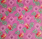 A STRAWBERRY SHORTCAKE MUSIC COTTON FABRIC BY THE YARD