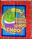 A DISNEY'S CHUGGINGTON KOKO THE TRAIN COTTON QUILT FABRIC PANEL #4