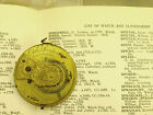Antique Chain Fusee Verge Pocket Watch Movement Chas. SPEEDWELL, LONDON