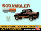 1981 1982 1983 1984 Jeep Scrambler CJ8 Decals  Stripes Kit