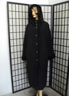 BRAND NEW REVERSIBLE BLACK CURLY LAMB FUR COAT JACKET WOMEN WOMAN SIZE 12 LARGE