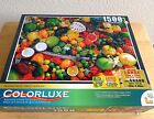 Colorluxe, 1500 Piece, Premium, Jig saw Puzzle, w/ Color Coded Back