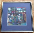 Jesus Nicolas Cuellar Oil Painting, Abstract Expressionism Post Modern 1980