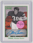 STEVE OWENS Oklahoma SIGNED 2011 TriStar Obak GREEN AUTO SP #11 25 AUTOGRAPH WOW
