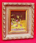 Abstract Impressionist Flowers Floral Painting signed Morris Katz Website Art
