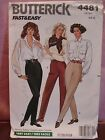 Misses PANTS - Size 6- 10  Butterick Sewing Pattern #4481 UNCUT-VINTAGE in style