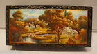 Russian Hand Painted Lacquer Trinket Box #2 - New!