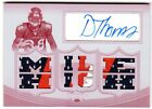 DEMARYIUS THOMAS 2010 TOPPS TRIPLE THREADS MAGENTA PLATE 3-COLOR PATCH AUTO #1 1