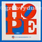 Official 2008 Hope President Barack Obama Political Campaign Pin Pinback Button