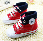 Infant Toddler Baby boy Girl Red Soft Sole Crib Shoes Sneaker Size 0 18 Months