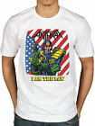 Official Anthrax I Am The Law Vintage T Shirt Rock Amoung The Living Fistful Of