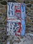 American abstract art  civil war  North/South  24x46