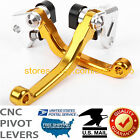 For SUZUKI RM125 RM250 1996-2003 US Brake Clutch Levers Pivot Off-road Dirtbike