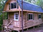 5 Acres NY Land Lot 10 Log Cabin FINANCING NO RESERVE PA Spring water Woods Fish