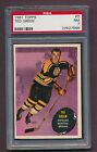1961 - 62 Topps - #2 Ted Green - PSA 7 NM