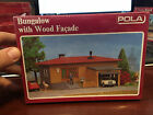 POLA - HO - BUNGALOW WITH WOOD FACADE BUILDING KIT - HO 11524