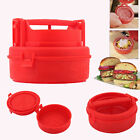BBQ Patty Maker Stufz Stuffed Burger Press Hamburger Grill Juicy