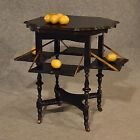 Antique Tea Presentation Table Drop Leaf Lamp or Display Victorian English c1900