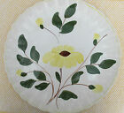 BLUE RIDGE Platter /Southern Potteries - Yellow Flower Round 40's US hand paint