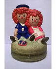 1972 Chadwick-Miller Raggedy Ann and Andy Figurine - Made in Japan-NO MUSIC