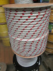 3 8 X 150 Halyard lineJibsheets16 strand boatanchor lineWhite Red USA