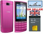 Nokia X3 02 New Condition Touch and Type Pink 3G Unlocked GSM Mobile Phone Brand