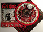 GRINDED ING SHRIEK OF THE MUTILATED CD X 35 PCS death metal grindcore skinhead