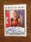 2008-09 TOPPS ROOKIE PHOTO SHOOT RUSSELL WESTBROOK RC AUTO SP AUTOGRAPH OKC Rare