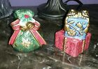 Fitz and Floyd Classics Jolly Ole St. Nick Salt and Pepper Shakers With Box