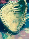 rawlings animal skin leather deep well pocket  first baseman glove supersize mlb