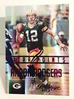 Aaron Rodgers Rookie Cards Checklist and Autographed Memorabilia 18