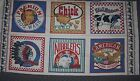 Flour Sack Fabric Prints Chicken Pig Cow Bunny Eagle Farm Animals  Panel