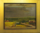 Glen Allison Ranney (American 1896-1959) WPA original two sided painting