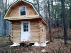 5 Acres NY Land Lot 24 Log Cabin FINANCING NO RESERVE PA Spring water Woods Fish