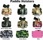 Paddle Holster for 1911 CZ Bersa FN Diamondback Kydex Gun Holster Kryptek