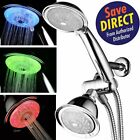PowerSpa LED 3 Way Shower Combo with Air Jet Turbo Pressure Boost