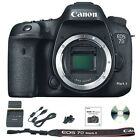 Canon EOS 7D Mark II MK 2 Camera Body Only 202MP DSLR Black BRAND NEW