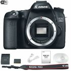 NEW Canon 70D Body Digital SLR Camera Only 20.2 MP 1080p HD