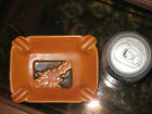 Roseville Silhouette Ash Tray, Rust, 799.