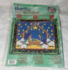 Bucilla The Brightest Star Advent Calendar Kit 84407 Christmas Nativity 19x16