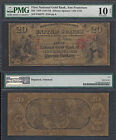 $20 1870 National GOLD BANK Note==EXTREME RARITY==Ch. 1741==PMG