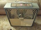 Vintage Lake Breeze Thermo Control Deluxe Box Fan 22