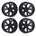 19 CHRYSLER 200 BLACK CHROME WHEELS RIMS FACTORY OEM 2017 SET 4 2517 EXCHANGE