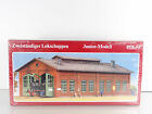 Pola HO Scale 1:87 Double Engine Shed Model Kit # 1020 New Shrink Wrapped