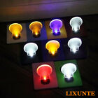 New Slice Portable Pocket Wallet Credit Card Size LED Night Light Lamp Bulbs Lxt